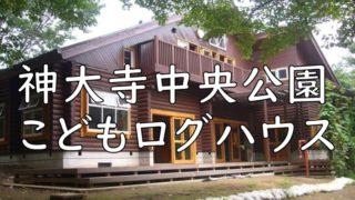 神大寺中央公園こどもログハウス