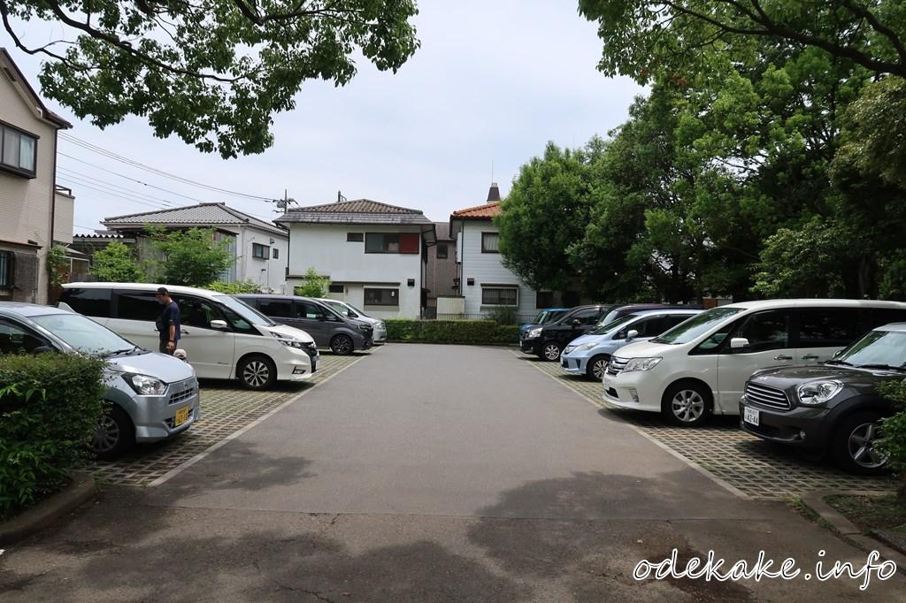 第1駐車場(公園正門前)