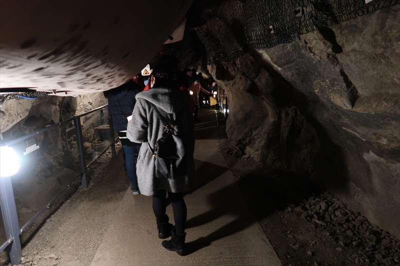 第一岩屋の中