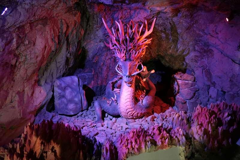 第二岩屋の龍