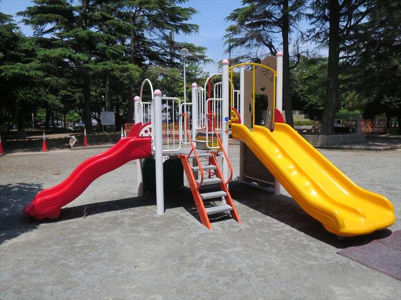 街区公園の遊具
