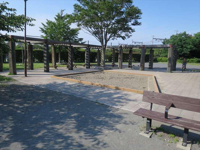 大津公園の砂場