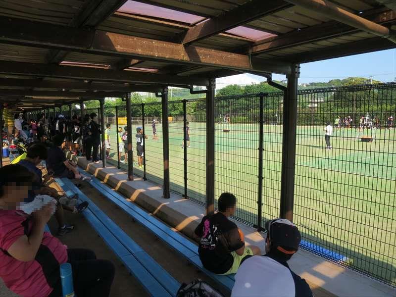 大津公園のテニスコート