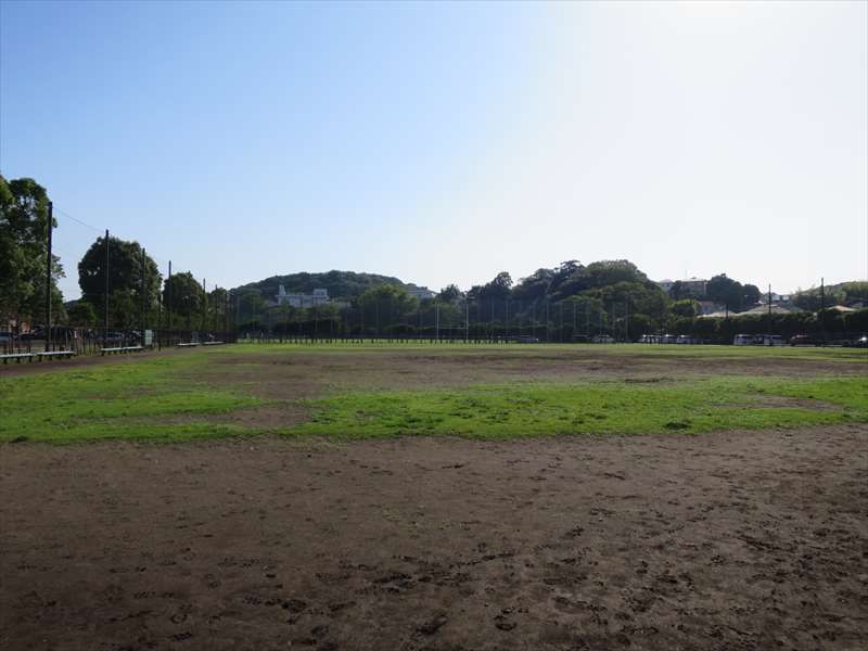 大津公園の野球場