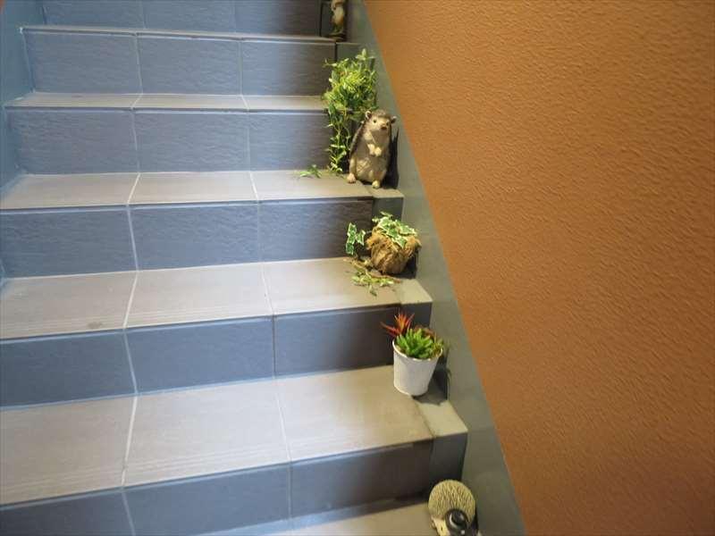 階段の置物
