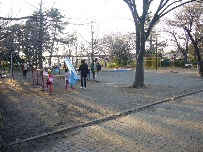 綱島公園の子供の遊び場