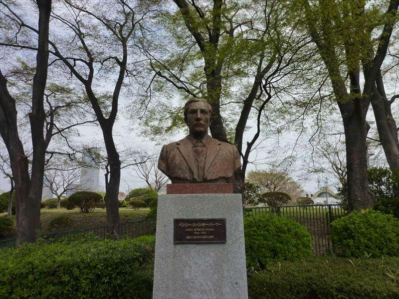 ヘンリー・スペンサー・パーマーの胸像