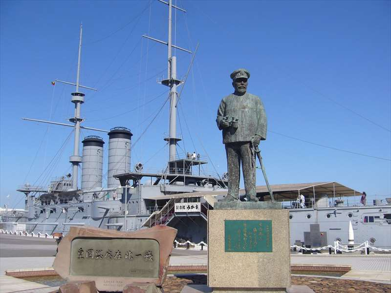 東郷平八郎の銅像
